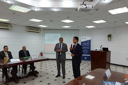افتتاح فعاليات الدورة الثانية لبرنامج «القيادة والتأثير» لتأهيل الترشح لعمادة الكليات بجامعة بنها